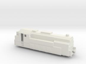 PANZERZUG 93 1/200 in White Natural Versatile Plastic