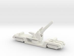 BL 12 inch howitzer Mk 3 1/285 6mm in White Natural Versatile Plastic