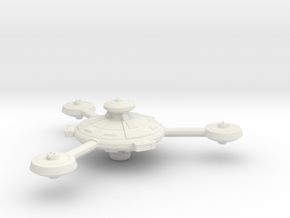 Omni Scale Federation Augmented Battle Station WEM in White Natural Versatile Plastic