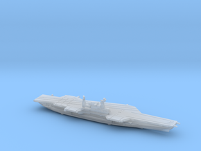 USS Midway (1992) w/Hanger, 1/2400 in Smooth Fine Detail Plastic