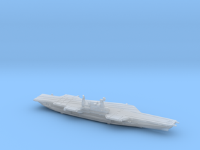 USS Midway (1992) w/Hanger, 1/1800 in Smooth Fine Detail Plastic