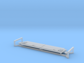 Riverine_Command_Boat_Transom_Armor in Smoothest Fine Detail Plastic