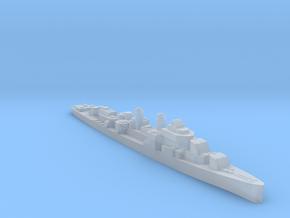 USS Douglas H Fox destroyer 1:3000 WW2 in Smoothest Fine Detail Plastic
