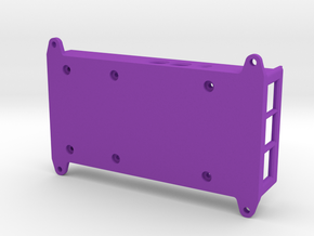 VMX-pi Base [Raspberry Pi 4B] in Purple Processed Versatile Plastic