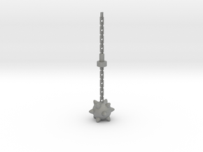 Stranglehold Spiked Ball & Chain in Gray PA12