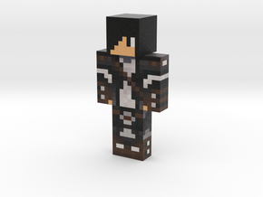 Battle_one | Minecraft toy in Natural Full Color Sandstone