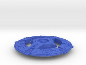 Marauder in Blue Processed Versatile Plastic