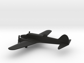 Avro Anson I in Black Natural Versatile Plastic: 1:200