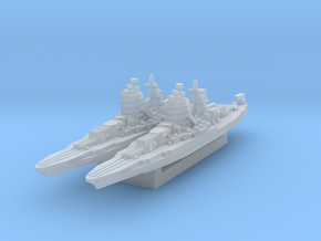 New Mexico Battleship (A&A Classic) in Smooth Fine Detail Plastic