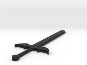 [1DAY_1CAD] WING BLADE in Black Natural Versatile Plastic