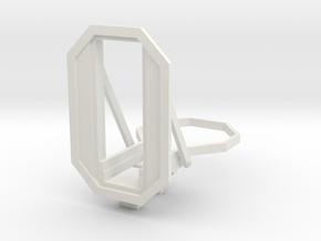 RhB Main signal frame - 2 aspects in White Natural Versatile Plastic