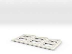HOus12 - Facade of the factory in White Natural Versatile Plastic