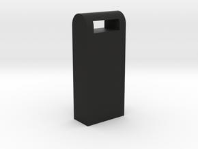 Juul Holder in Black Natural Versatile Plastic