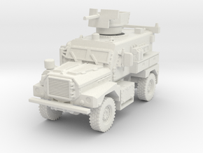 MRAP Cougar 4x4 early 1/87 in White Natural Versatile Plastic