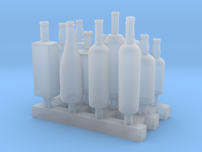 Liquors Bottles (1) 1:24 in Smooth Fine Detail Plastic