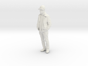 Printle F Sergeant Andrew Carter - 1/24 - wob in White Natural Versatile Plastic