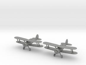 1/200 Gloster Gladiator Mk.I (x2) in Gray PA12