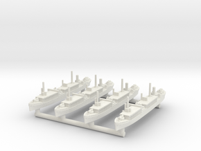 Notoro Seaplane Tender [x4] in White Natural Versatile Plastic