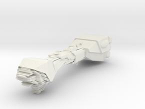 2500 Neutron Star Bulk cruiser Star Wars in White Natural Versatile Plastic