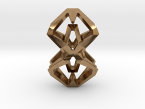 HEAD TO HEAD Perfect Union, Pendant in Natural Brass