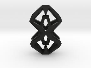 HEAD TO HEAD Perfect Union, Pendant in Black Natural Versatile Plastic