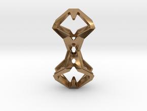 Timeless Heart, Pendant in Natural Brass