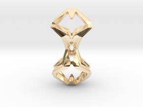 Timeless Heart, Pendant in 14K Yellow Gold