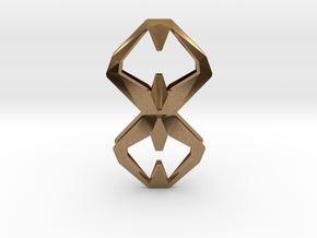 Sharp Union, Pendant. Sharp Chic  in Natural Brass