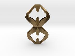 Sharp Union, Pendant. Sharp Chic  in Natural Bronze