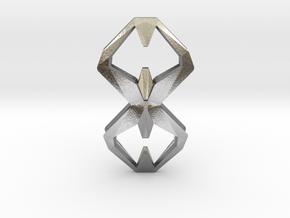 Sharp Union, Pendant. Sharp Chic  in Natural Silver