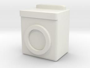 Washing Machine 1/48 in White Natural Versatile Plastic