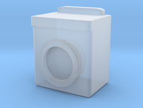 Washing Machine 1/48 in Smooth Fine Detail Plastic