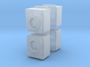 Washing Machine (x4) 1/120 in Smooth Fine Detail Plastic