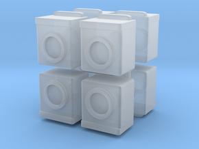 Washing Machine (x8) 1/220 in Smooth Fine Detail Plastic