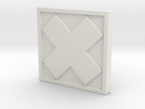 TheX in White Natural Versatile Plastic