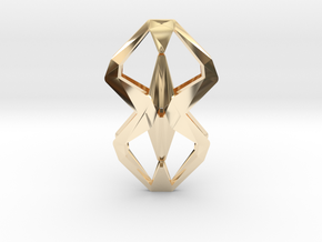 """""""head to head, heart to heart"""" YOUNIFORM, pendant in 14K Gold"""
