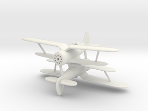 Polikarpov I-153 1:200/240/285 in White Natural Versatile Plastic: 1:200