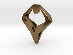 HEAD TO HEAD Matchless, Pendant in Natural Bronze