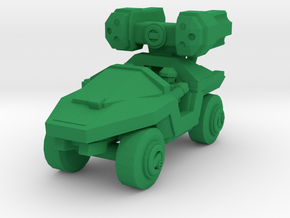 Infantry Support Vehicle Rockethog (Updated) in Green Processed Versatile Plastic