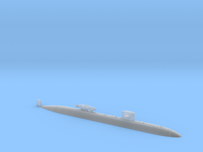 USS DALLAS WL - 1250 w DSRV in Smooth Fine Detail Plastic