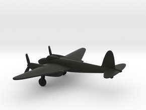 de Havilland DH.98 Mosquito B.IV in Black Natural Versatile Plastic: 1:200