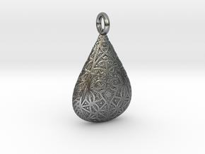 Drop in Antique Silver