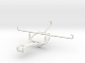 Controller mount for Shield 2017 & Oppo Reno Ace - in White Natural Versatile Plastic