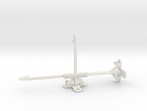 Oppo Reno Ace tripod & stabilizer mount in White Natural Versatile Plastic