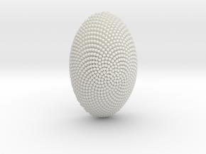 butterfly eye, 4 cm in White Natural Versatile Plastic