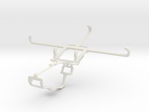 Controller mount for Xbox One & Oppo Reno Ace in White Natural Versatile Plastic