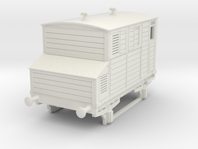 o-97-mgwr-horsebox in White Natural Versatile Plastic