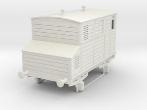 0-35-mgwr-horsebox in White Natural Versatile Plastic