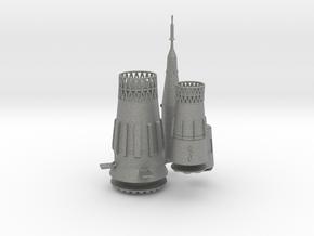 1/400 N-1 SOVIET MOON ROCKET (DETAIL MAT'LS) in Gray PA12