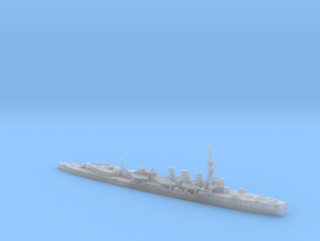 1/600th scale HMS Caroline light cruiser in Smooth Fine Detail Plastic